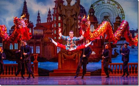Derrick Agnoletti stars in The Nutcracker by Christopher Wheeldon, Joffrey Ballet Chicago