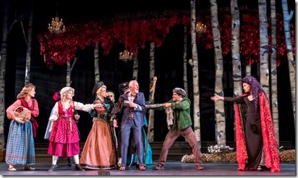 Into the Woods cast at Music Theater Works, Stephen Sondheim 3