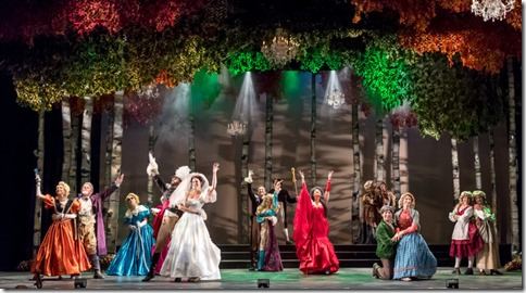 Into the Woods cast at Music Theater Works, Stephen Sondheim