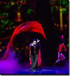 Temur Sulashvili stars in The Nutcracker by Christopher Wheeldon, Joffrey Ballet Chicago