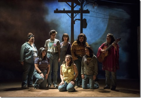 Isabella Gerasole, Sandra Delgado, Alice da Cunha, Mari Marroquin, Cher Álvarez, Charín Alvarez and Karen Rodriguez