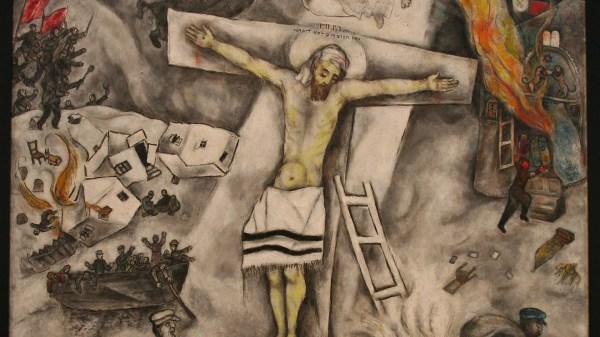 White Crucifixion Marc Chagall