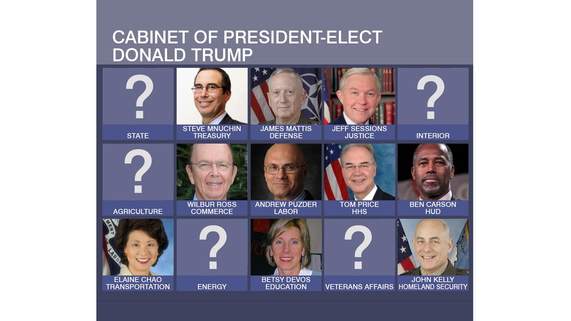 how are the leaders of each presidential cabinet selected ...