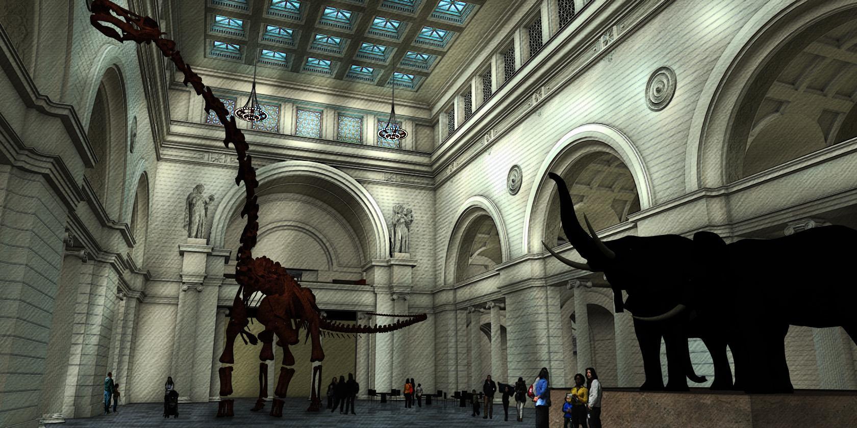 World Largest Dinosaur Coming Field Museum