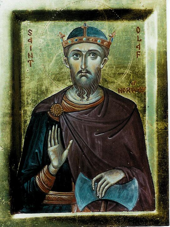 SAINT OLAF RETURNS TO CUT OFF OF HANDS OF EVERY VIKING