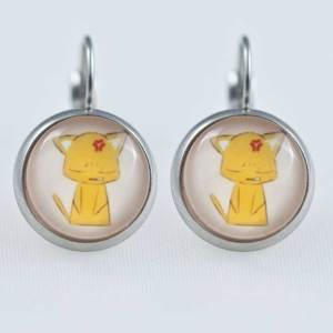 Chica Manga Fruits Basket Earrings dangle Stailess steel Kyo