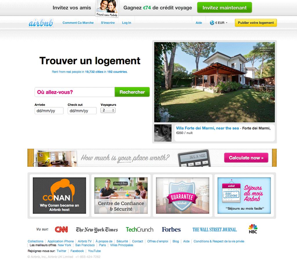 J'ai testé pour vous: Airbnb.com   Chic & Geek