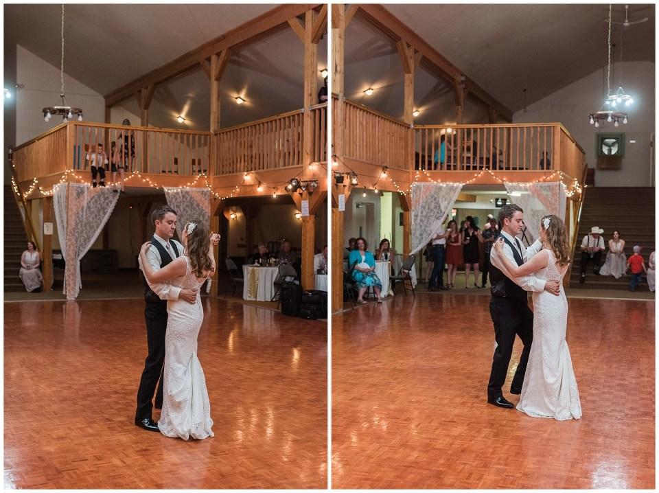 Ponoka Moose Hall Wedding