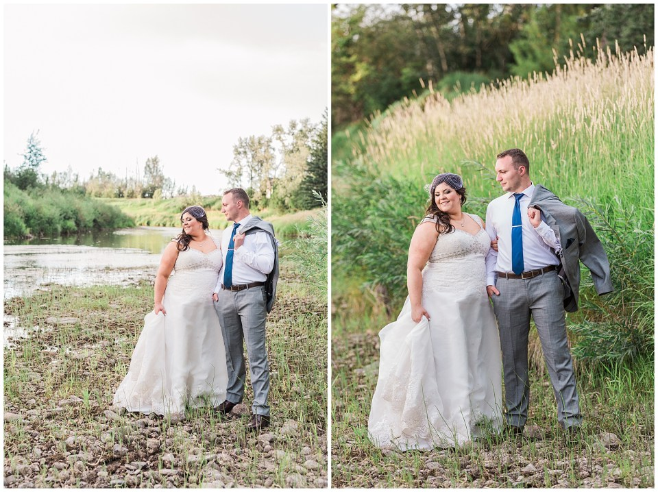 Markerville Creamery Outdoor Wedding