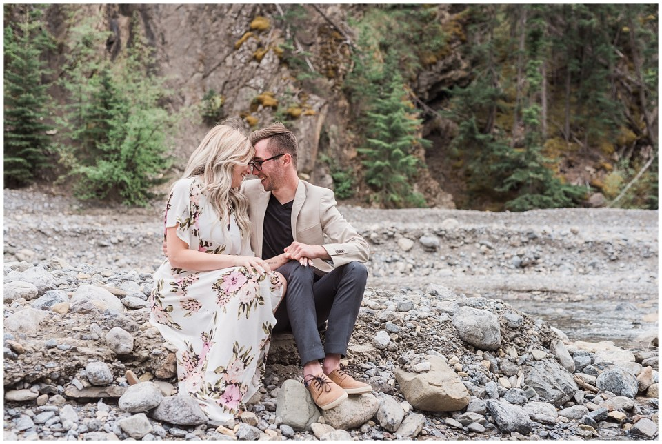 Abraham Lake Engagement Session