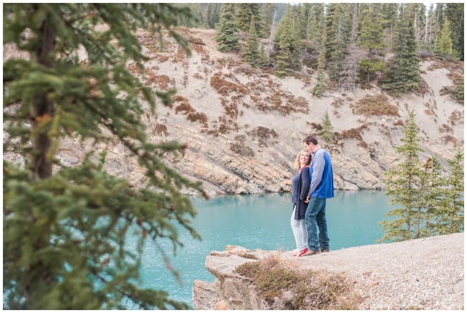 Abraham Lake Engagement session
