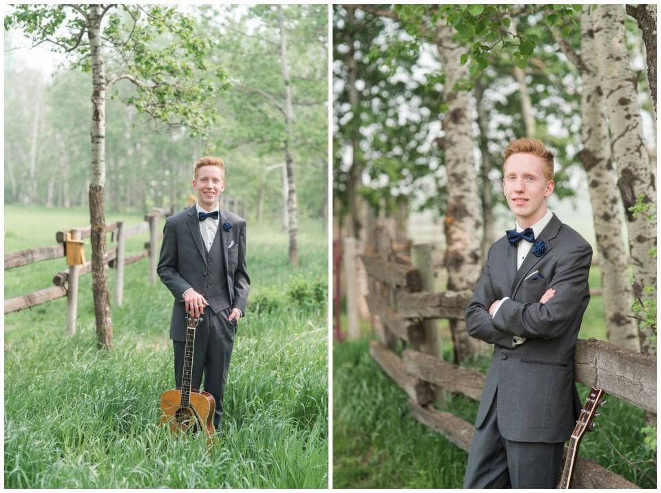Red Deer twins graduation photos