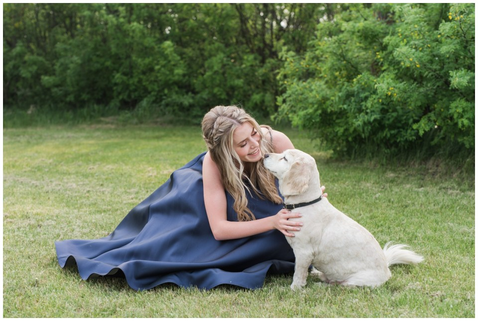 Red Deer twins graduation photos
