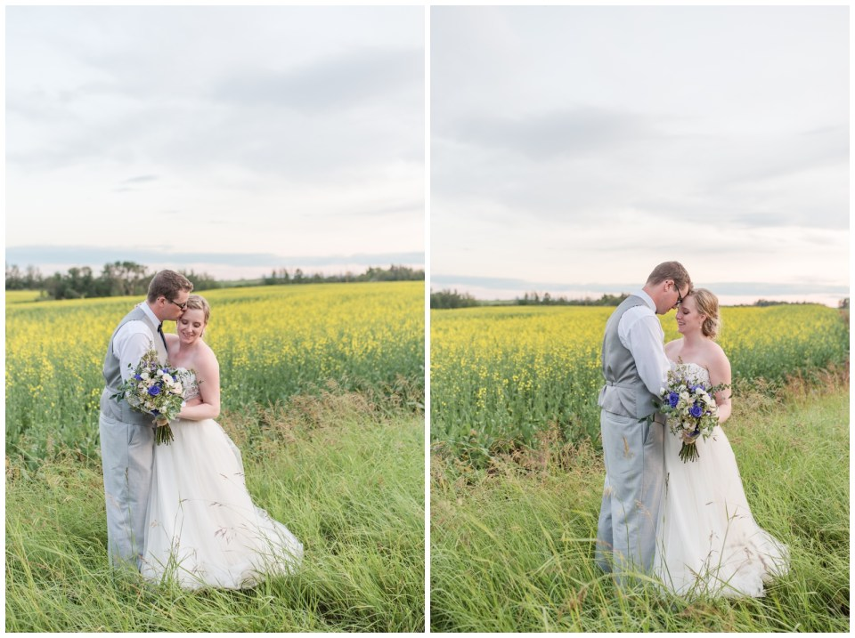 Wedding Portraits at Burbank in the Summer.