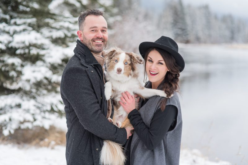 Brining pets to your engagement session