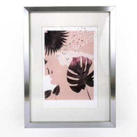 affiche A4 pink chic and pepper