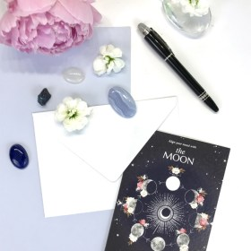 carte double moon lune chic and pepper