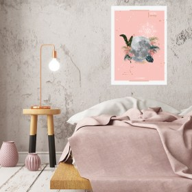 affiche Moon Lion Chic and Pepper