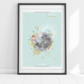 affiche Moon Poissons Chic and Pepper