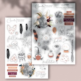 Moon Stickers automne Chic and Pepper