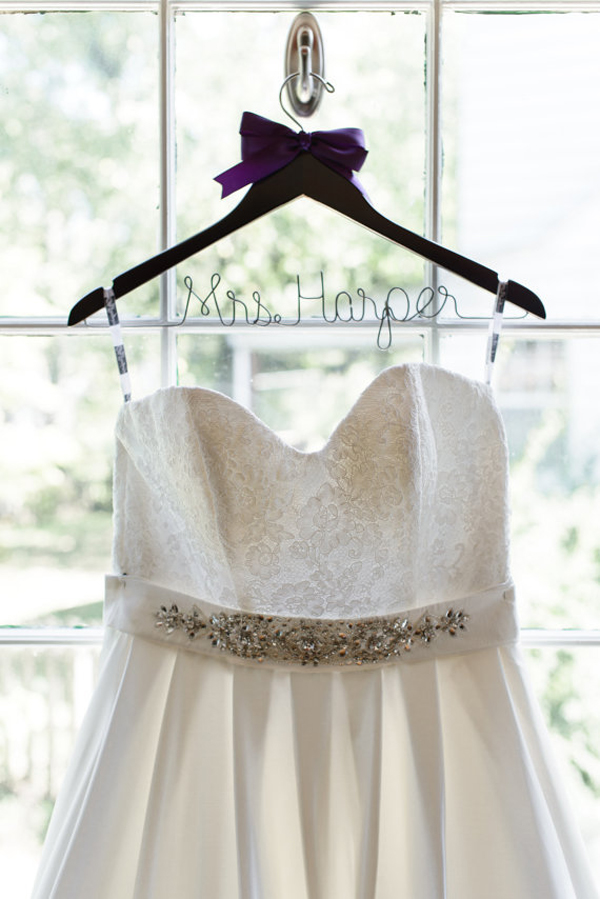 Wedding hangers for your wedding dress