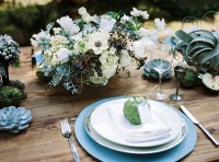 Dusty blue wedding inspiration