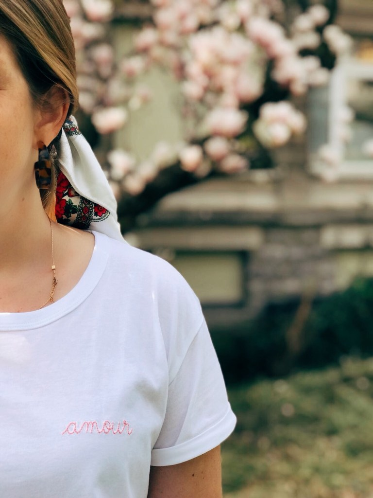 tee shirt amour Maison Labiche