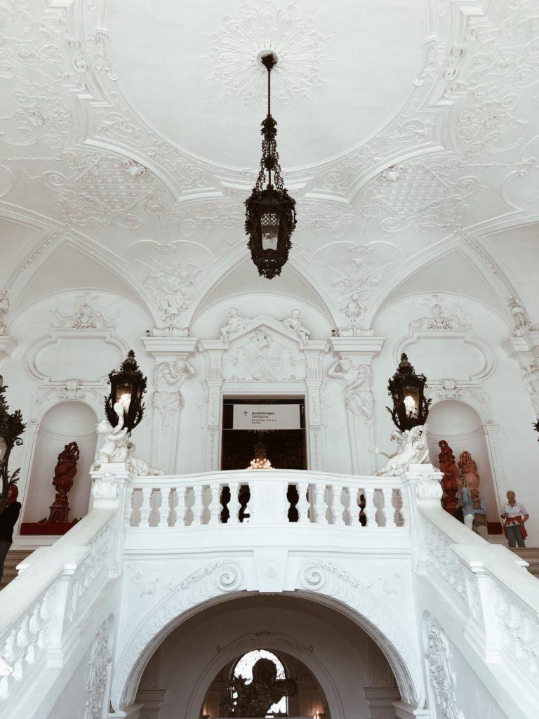 Inside the Belvedere, Vienna