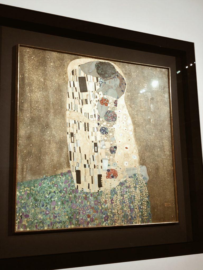 Le Baiser, Gustav Klimt, Vienne