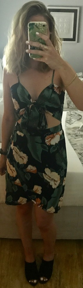 chicandswiss missguided tropical dress