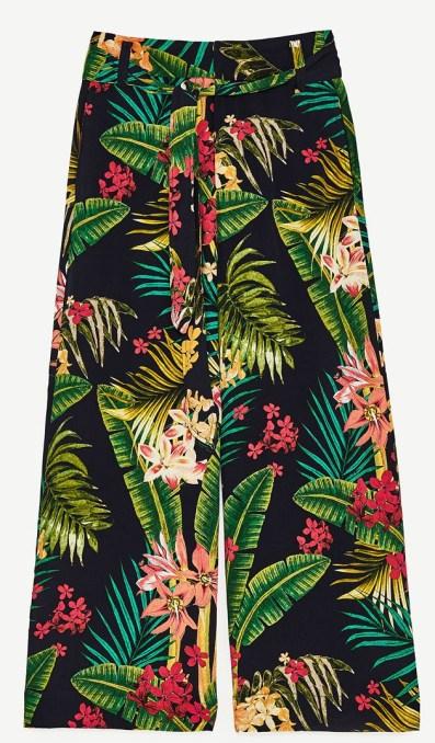 pantalon tropical zara