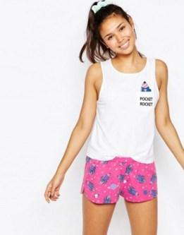 Pocket Rocket Vest & Short Pyjama Set