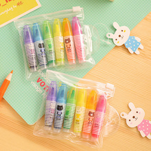 6-pcs-Lot-Color-Mini-highlighters-Cute-fluorescent-marker-pen-for-reading-book-Kawaii-Stationery-Office_jpg_220x220
