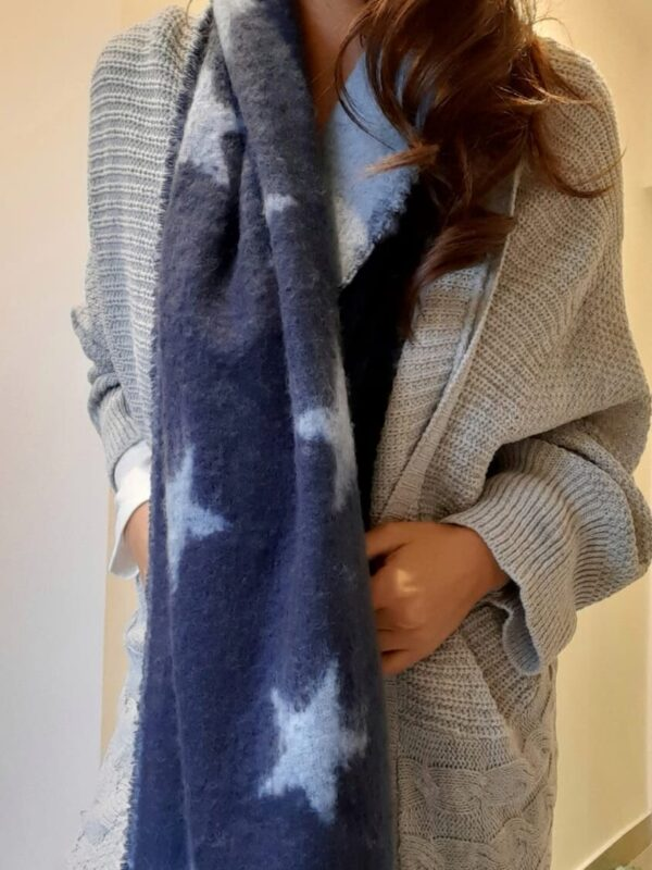 bufandon azul