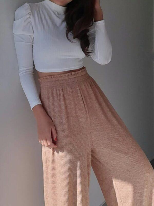 Pantalon Palazo De Angorina