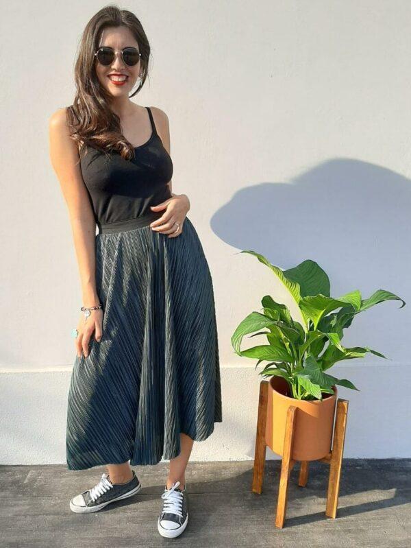 Falda Gaia Plisada