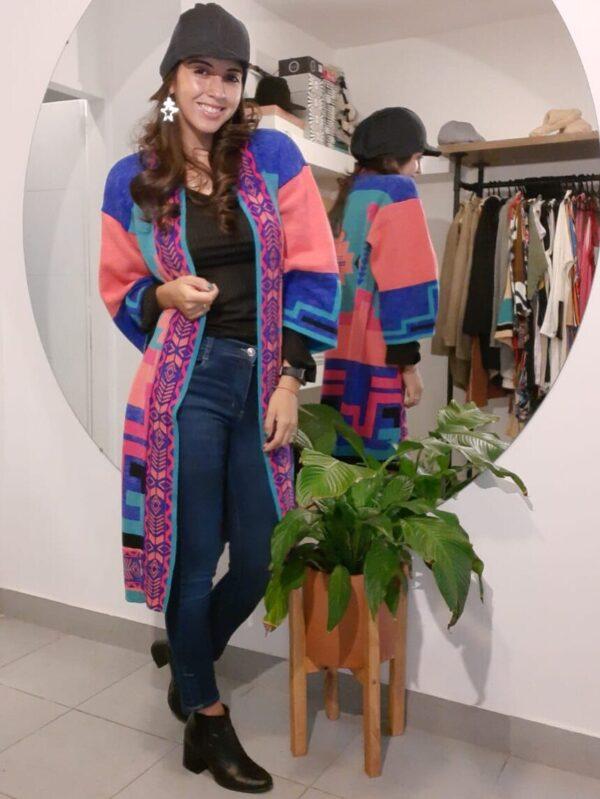 Saco Multicolor
