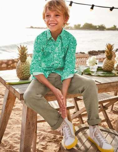 Mini Boden Cute Boy Pineapple