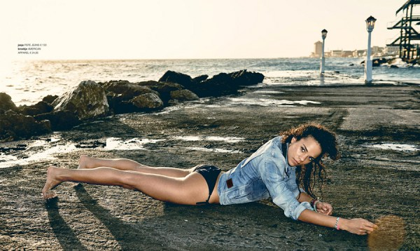 Chloe Leenheer at Avila Beach Resort for LINDA.magazine