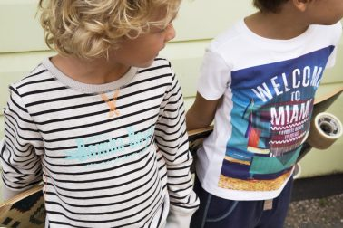 Remote Kids Fashion Shoot Colorful City