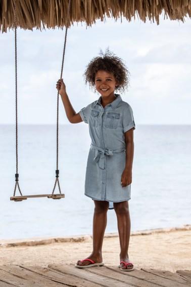 Jola Mode (Ravagio & D-Zine) Summer Remote Shoot Kids Streetwear Fashion in Curacao