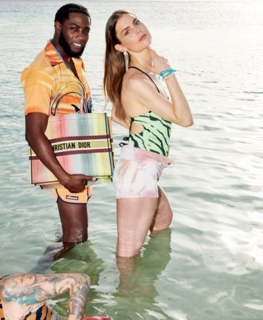 LINDA. magazine photography styling editorial location shoot Curacao