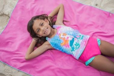 Playshoes Summer Remote Shoot Kids Beachwear in Curacao