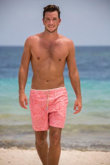 Men Swimwear Remote Shoot on Curacao