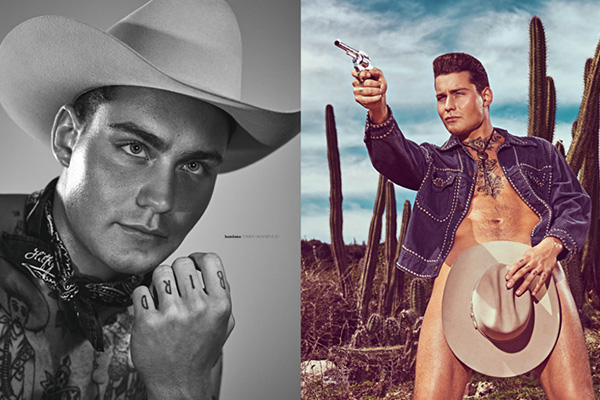 Douwe Bob channeling his inner Cowboy