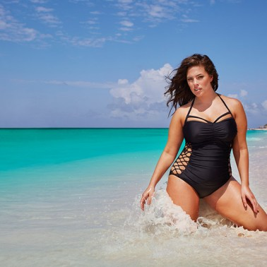 Ashley Graham for the Curves in Bikini Campaign Swimsuitsforall