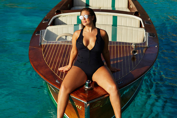 Top Fashion Model Ashley Graham on Curacao
