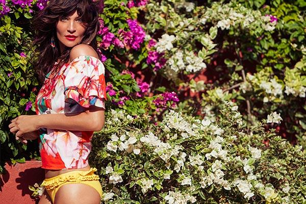 Top Fashion Model Helena Christensen on Curacao