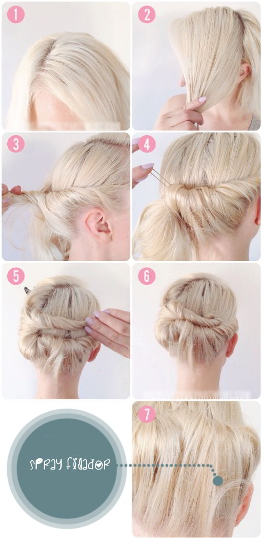 Peinados elegantes con pelo corto