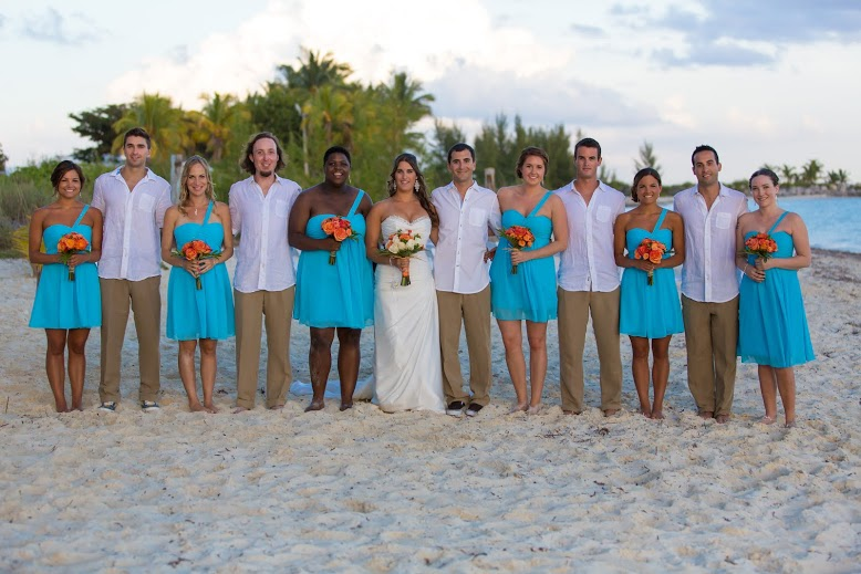 Bahamas Beach Wedding Locations  Michelle and Jeremys